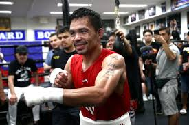 Manny Pacquiao is back in training!!