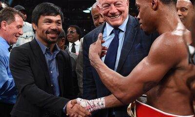 Pacquiao should dictate fight against Spence says boxing promoter