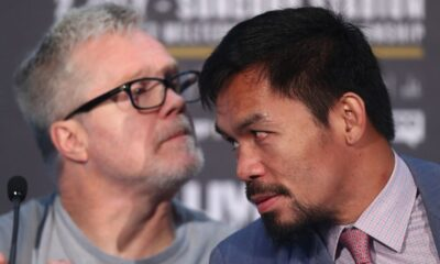 Roach admits wanting Pacquiao to fight Garcia rather than Spence