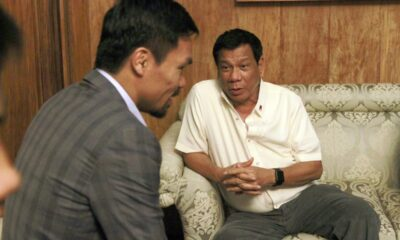 Political conflict aims to distract Pacquiao says himself
