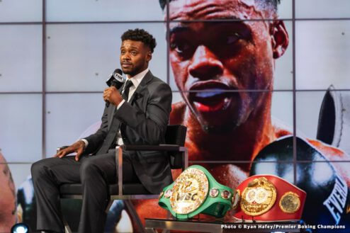 """""""A great compliment,"""" Spence reacts to Pacquiao's praises"""