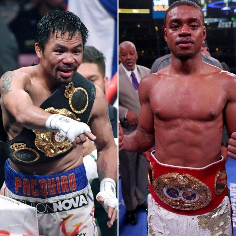 Pacquiao impressive in training, knocking down sparring partners