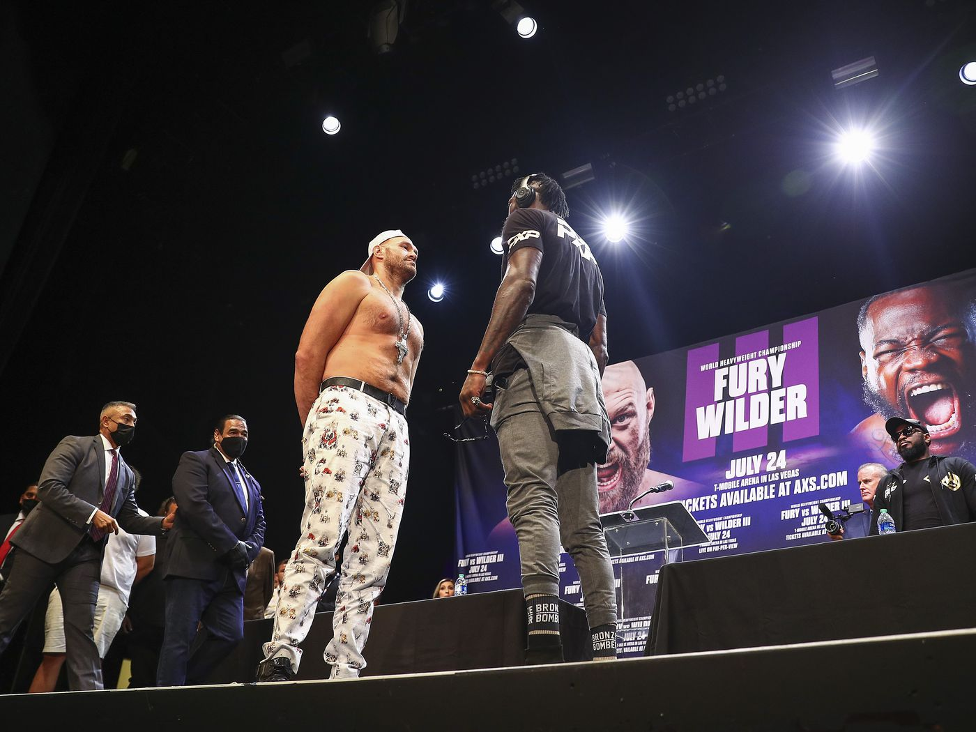 Fury to Wilder's claim: You can't fake COVID with PCR test