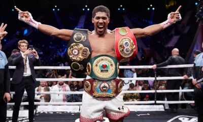 Anthony Joshua is eager for the Tyson Fury fight to happen.